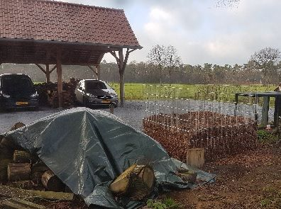 Bladkorf / compostbak