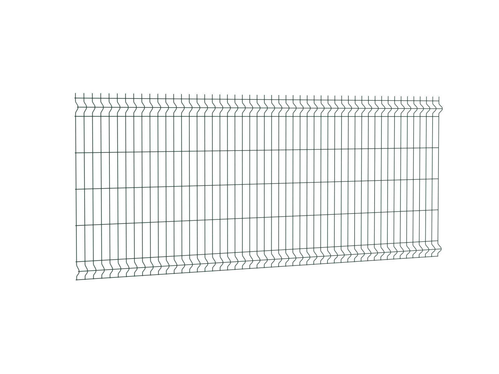 Afbeelding van Enkelstaafmat hek 250 x 103 cm (bxh) groen RAL 6009
