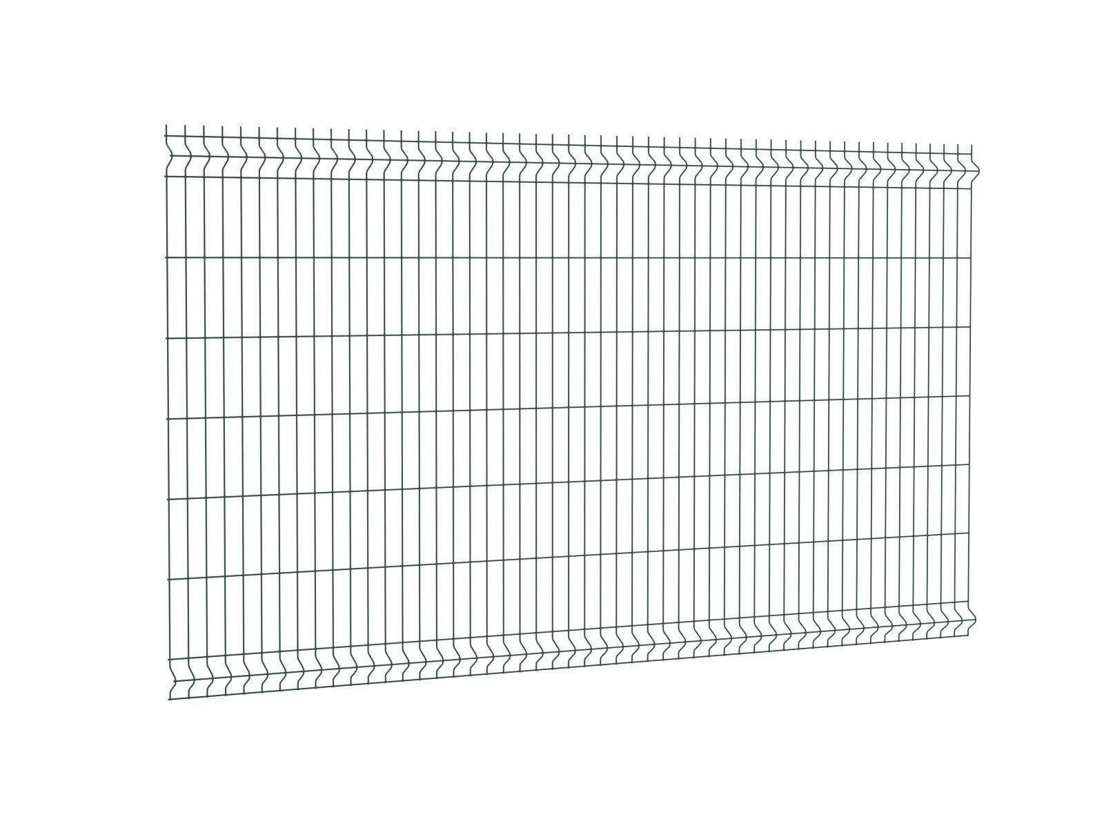 Afbeelding van Enkelstaafmat hek 200 x 143 cm (bxh) Zwart RAL9005