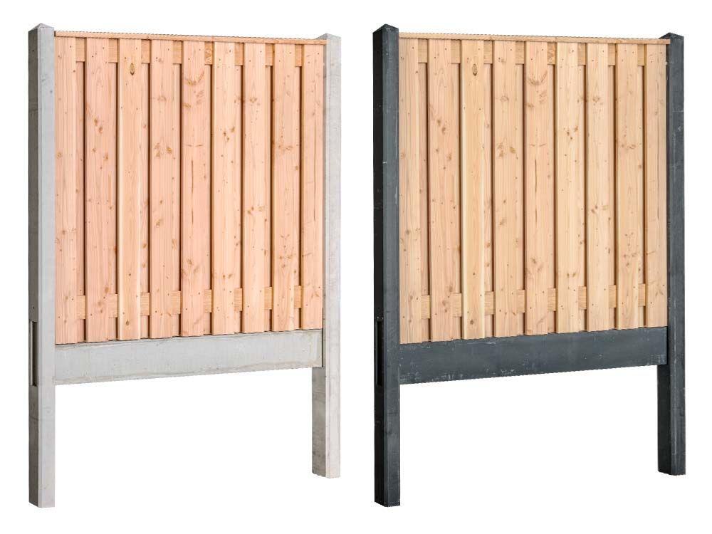 Afbeelding van Douglas | hout beton schutting pakket