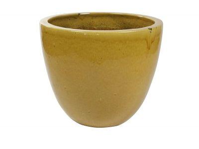 bloempot pure 76 cm honing geel