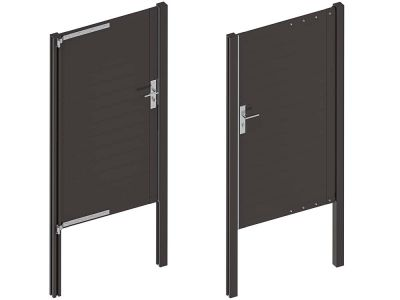 deur aluminium composiet