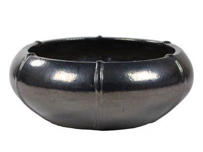 moda schaal 29 cm donker grijs