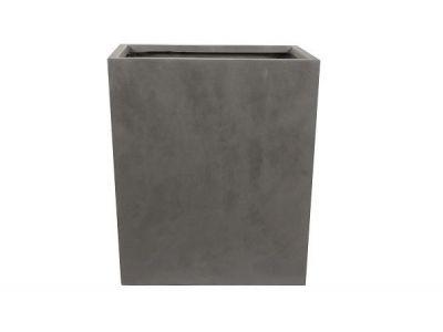 plantenbak vierkant static 96 cm grijs