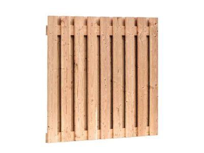 Douglas hout tuinscherm 19 planks 180 x 180 cm