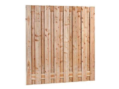 Douglas hout tuinscherm 17 planks 180 cm x 180 cm