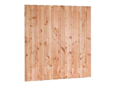 Douglas hout tuinscherm 21 planks verschillende hoogtes Rood bruin