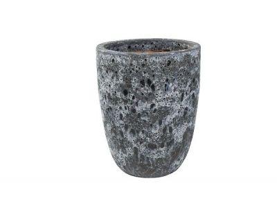 Vaas otho 70 cm zwart