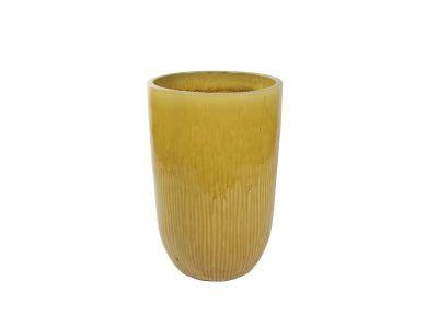vaas pure 63 cm honing geel