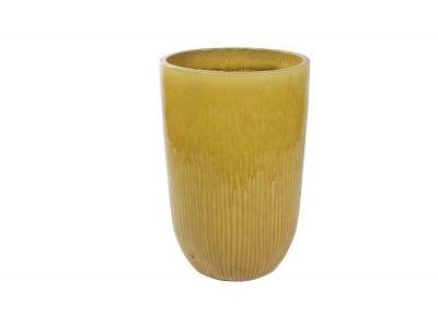 vaas pure 79 cm honing geel