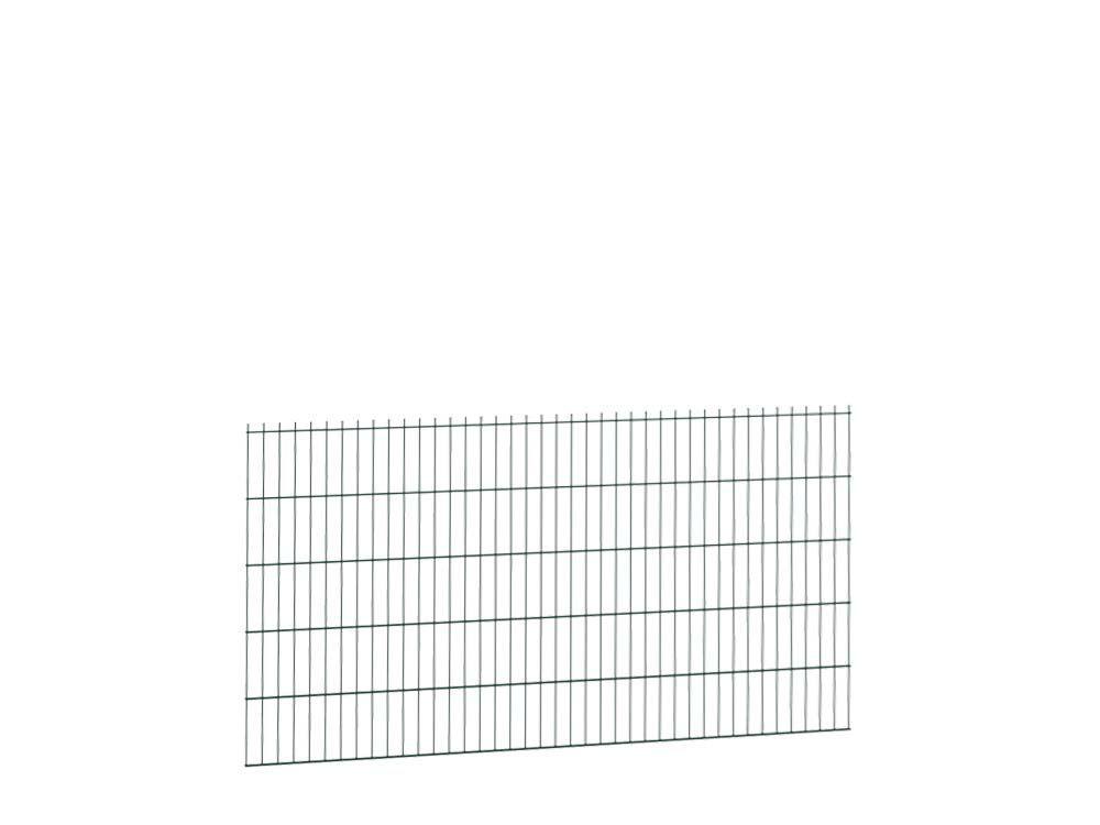 Afbeelding van Bladkorf dubbelstaafmatten-Groen RAL6009-103 cm