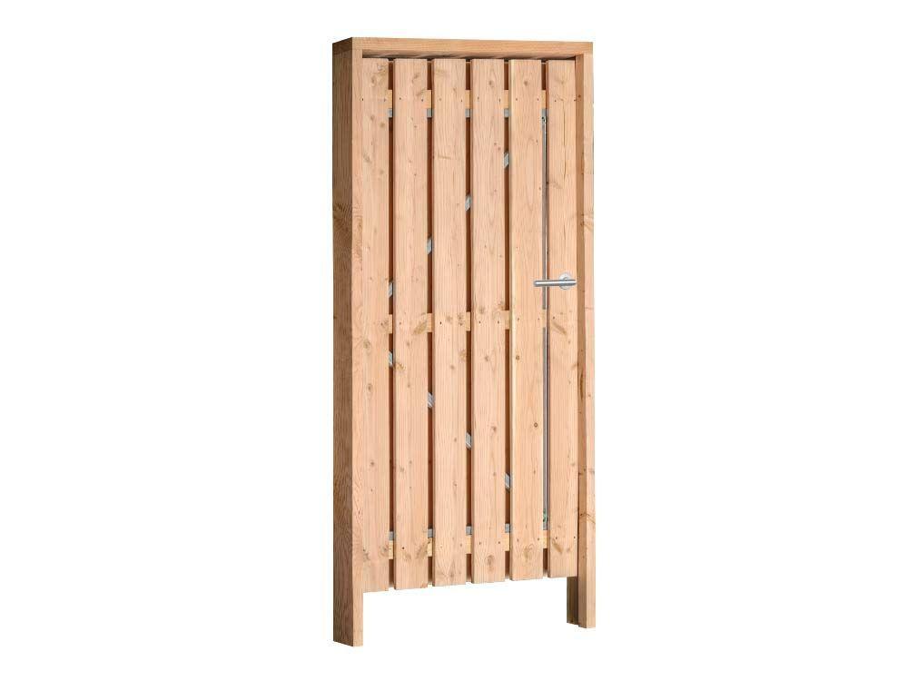 Afbeelding van Douglas poort compleet | inclusief hang en sluitwerk-120 cm