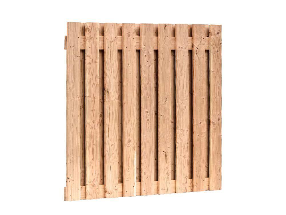 Afbeelding van Douglas hout tuinscherm | 19 planks | 180 x 180 cm