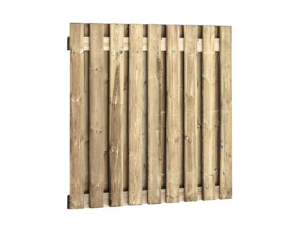 Afbeelding van Grenen tuinscherm | 19 planks | 180 x 180 cm