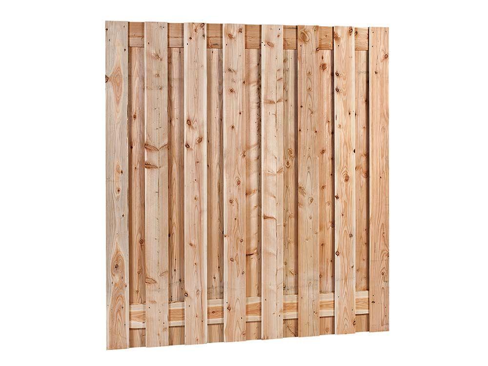 Afbeelding van Douglas hout tuinscherm | 17 planks | 180 x 180 cm
