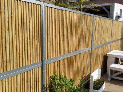 Bamboe schuttingen